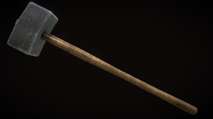 Sledgehammer Weapon [Free Download] 3D Model