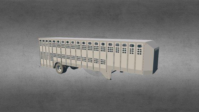 Eby 34FT Livestock 3D Model