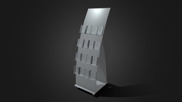 Booklet furniture 3D Model