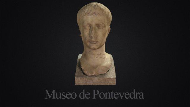 Retrato do Emperador Augusto 3D Model