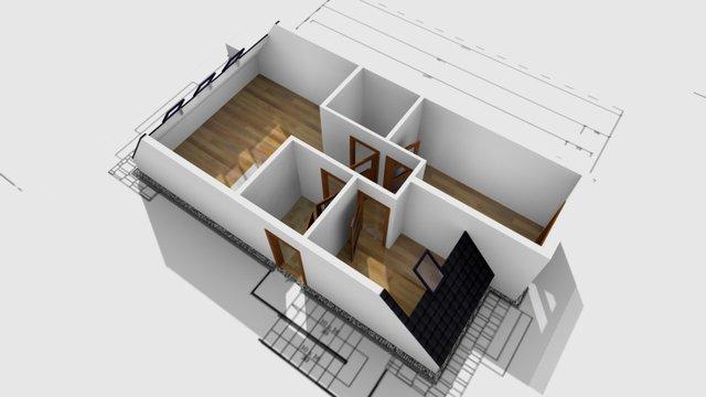 Apartment example 3D Model