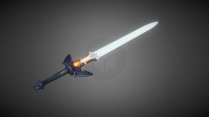 Twilight Princess Master Sword 3D Model