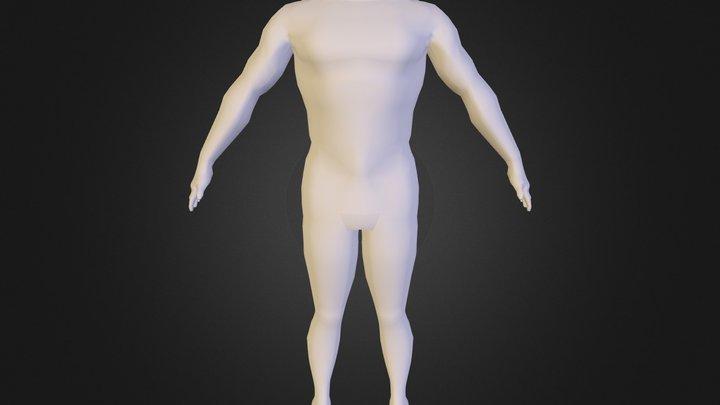 Generic Male Model 3D Model