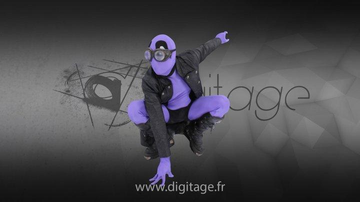 Dante 3 3D Model