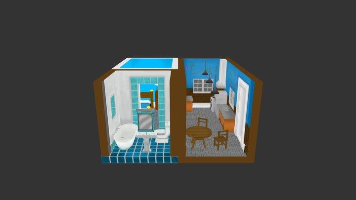 Albert_Mark_Aaron_Just House 3D Model