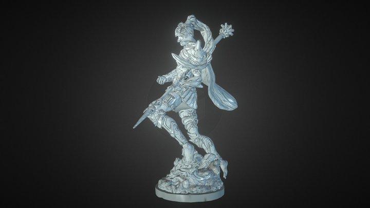 Aaron - Miniature 3D Model