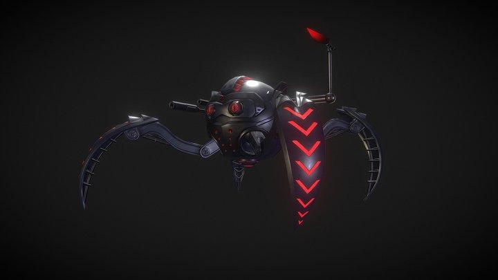 Mech-Spider-ninjia 3D Model