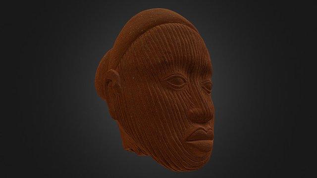 Cabeza de personaje femenino 3D Model