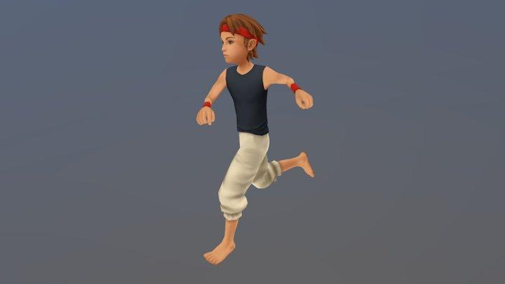 Runner 3D Model