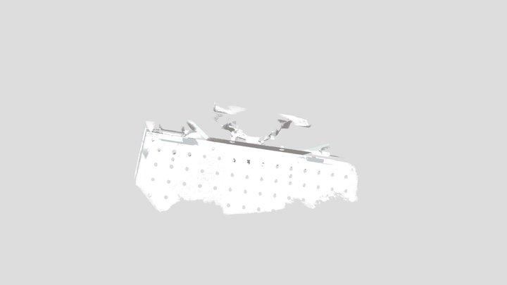 ABB IRBP 500R Full Side View Low Rez 50mb 3D Model
