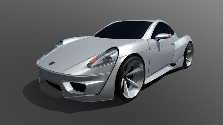 Gravity Sketch VR- Porsche Concept 3D Model