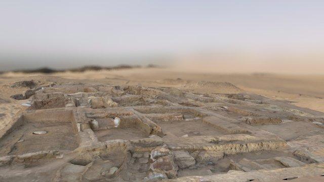 Neighbourhood E13 (Amara West, Sudan) 3D Model