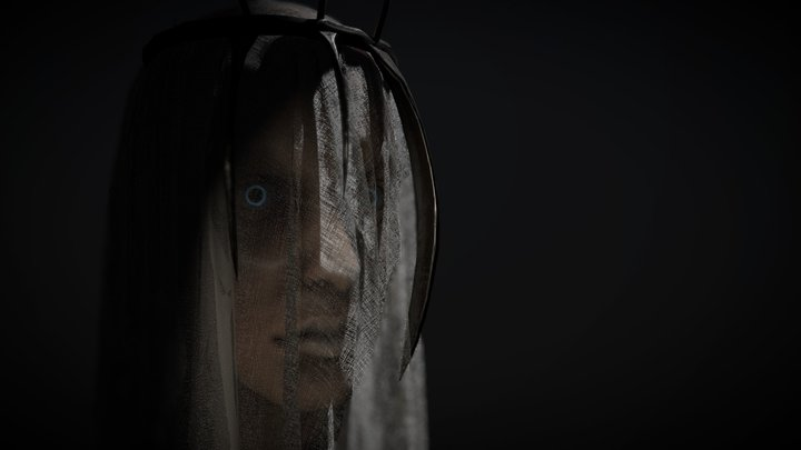 Mother Abbess of Pain 3D Model
