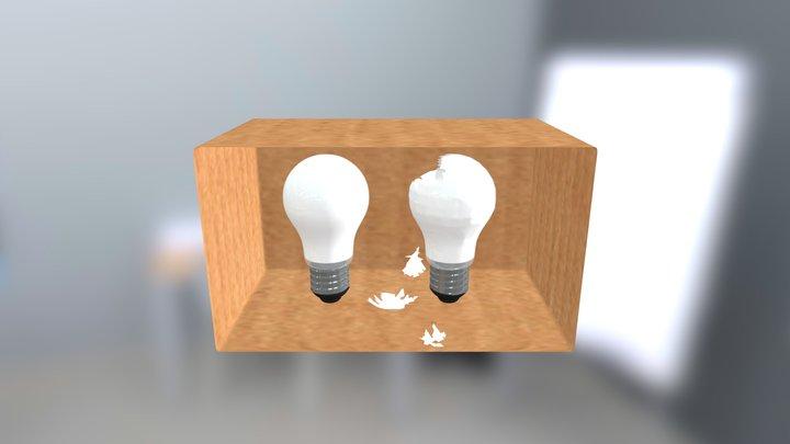 Lightbulbs 3D Model