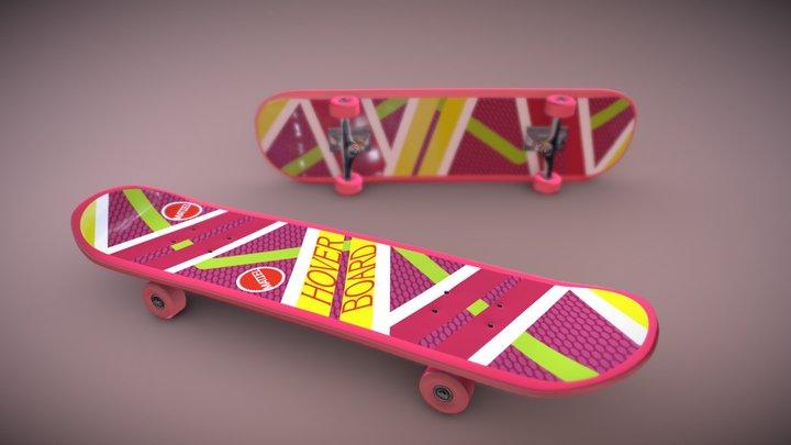 Hoverboard #SkateboardChallenge 3D Model