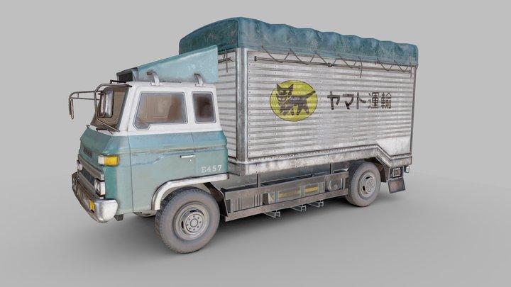 Nissan Diesel 3D Model