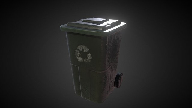 Trash_Bin 3D Model