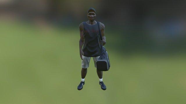 Male L.A. 3D Model