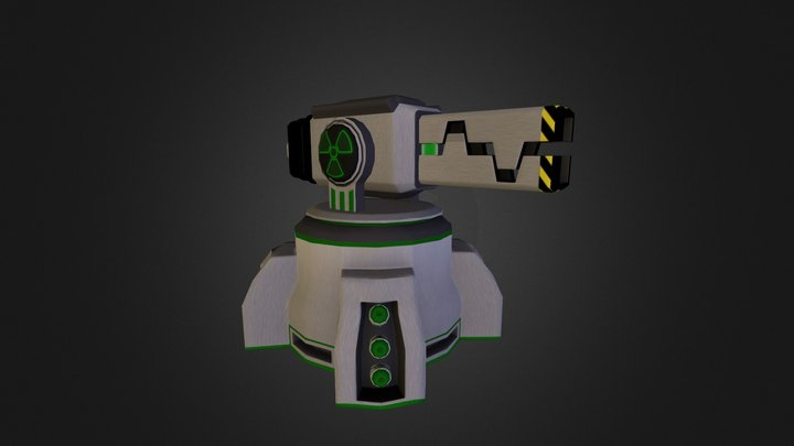 Radiation Turret  3D Model