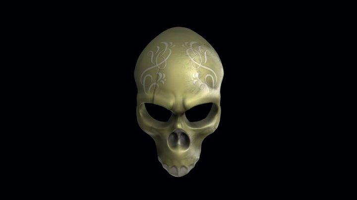 Ballistic Mask 3D Model