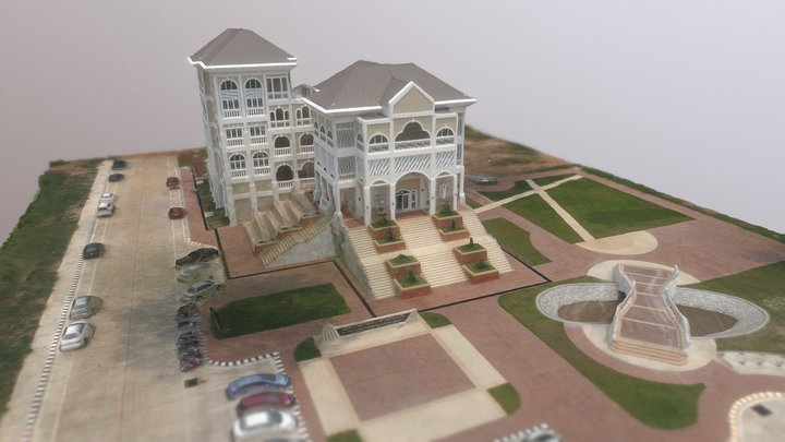 สถาบันวิจัยและพัฒนาวิชาชีพครู มข. 3D Model