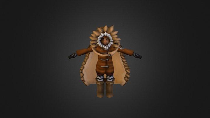 Iktsua Main Character 3D Model