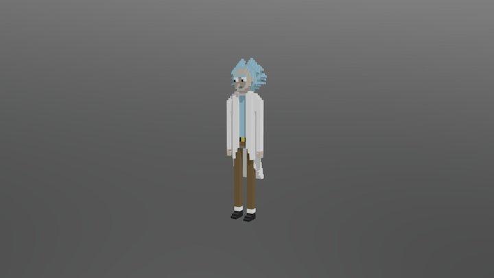 Rick 3D Model