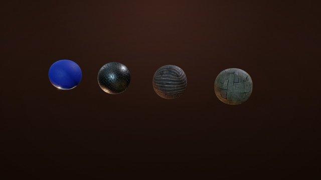 Materials Training 3D Model