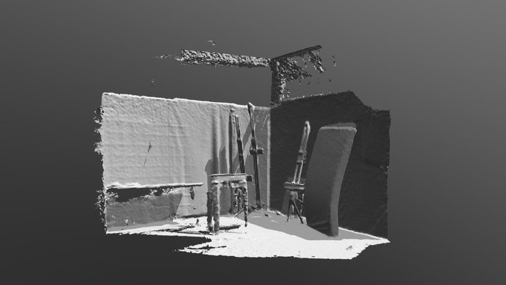Wall (to be Demolished) 3D Model