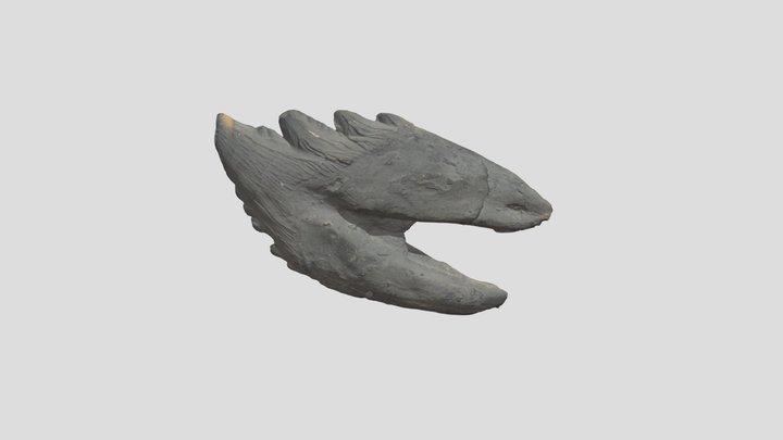 Basilosaurus Tooth 3D Model