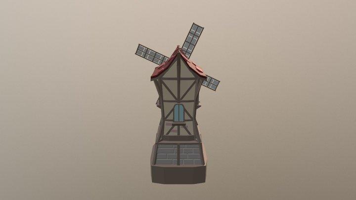 Windmill01 3D Model