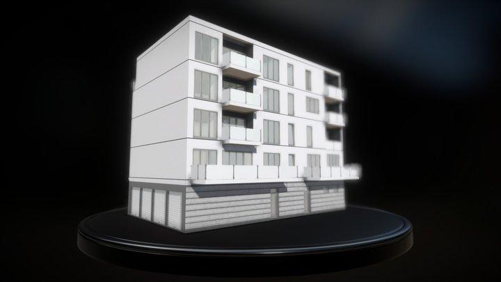 Lionstraße 8-10, Leipzig 3D Model