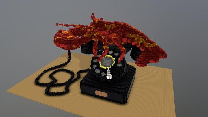 Lobster Telephone - after Dali 3D Model