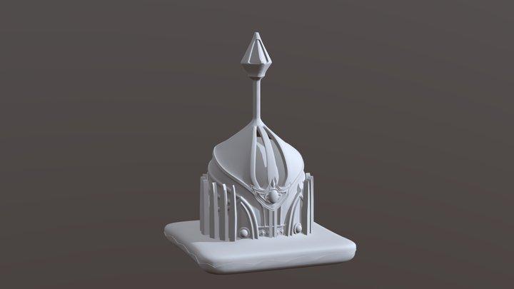 The Monarch Crown 3D Model