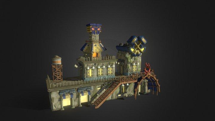 Craftsmen's market 3D Model