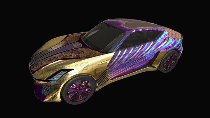 X-TAON: Baron Von Neon 3D Model