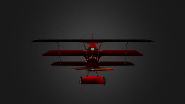 Fokker DRI 3D Model