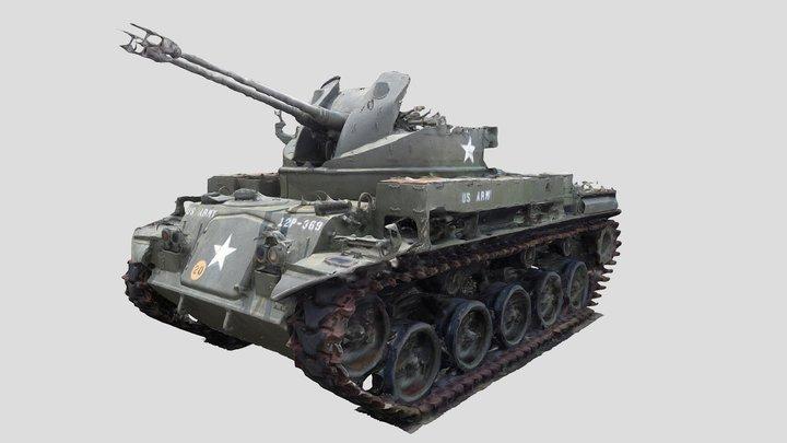 M42 Duster - 3D scan 3D Model