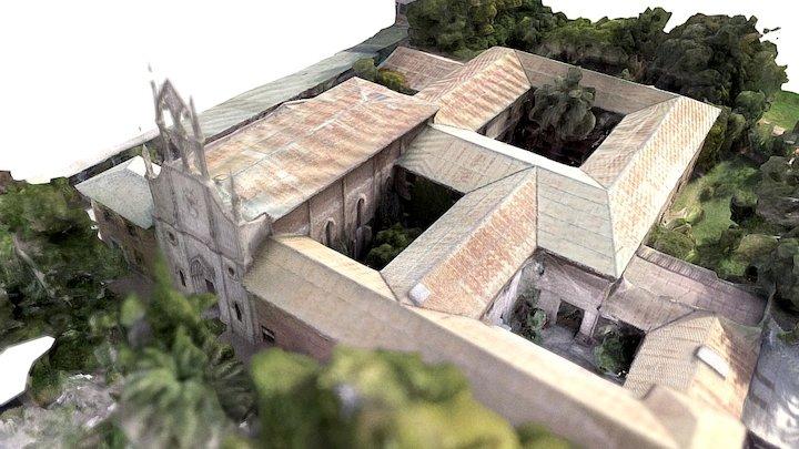 Monasterio Carmelitas Descalzas 3D Model