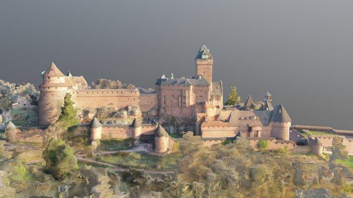 château du Haut-Kœnigsbourg 3D Model