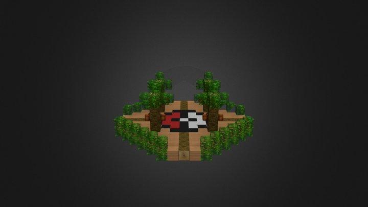 Jungle Battle Arena 3D Model