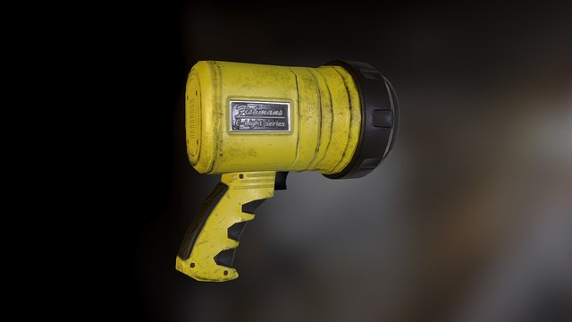 SLS Emergency Flashlight. 3D Model