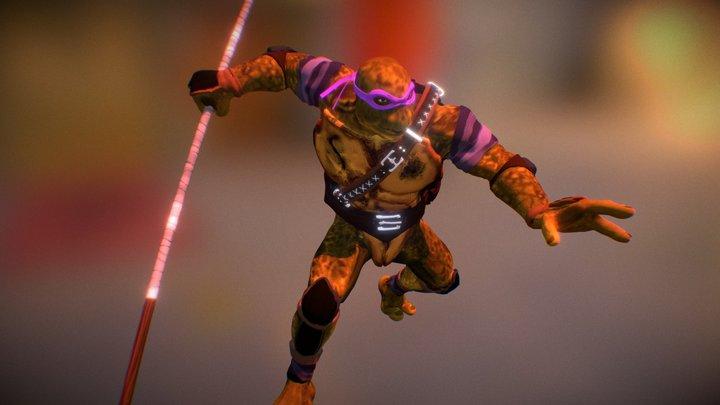 Donatello tmnt 3D Model