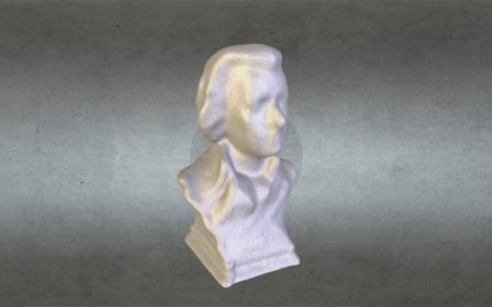 Mozart bust 3D Model
