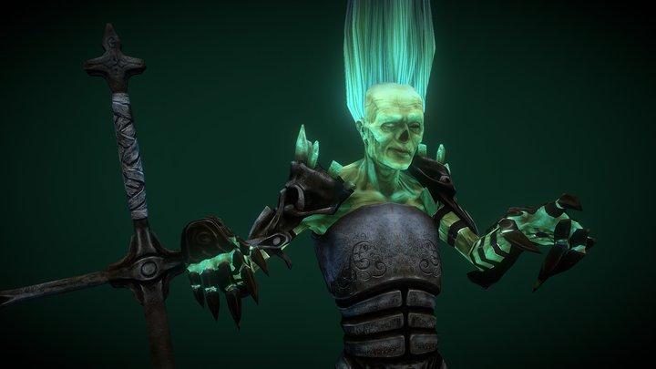 Necro Knight 3D Model