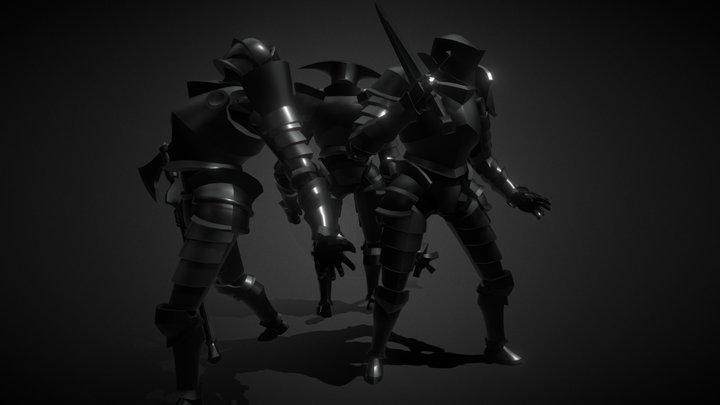 Mirador Characters - The Knight 3D Model