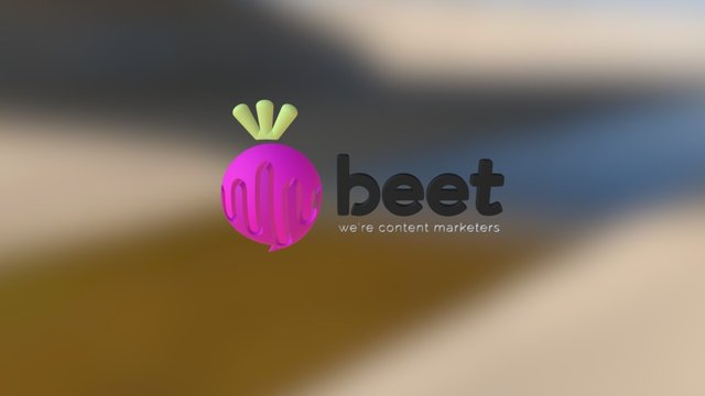 Beet 3D Model