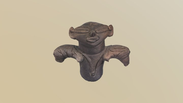土偶 Dogu (clay figure) 3D Model