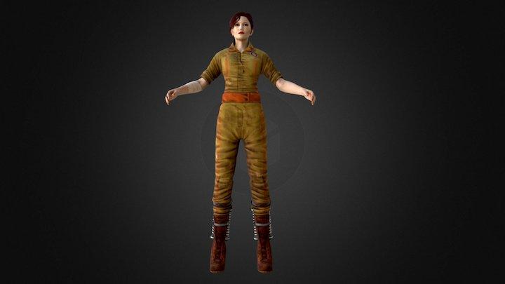 Mel Playermodel - Portalstories:Mel 3D Model