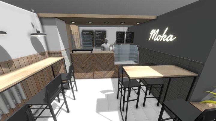 MOKA v3 3D Model